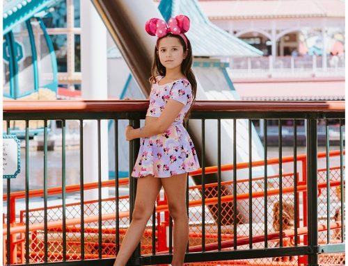 Making Memories with a Photoshoot at Disneyland